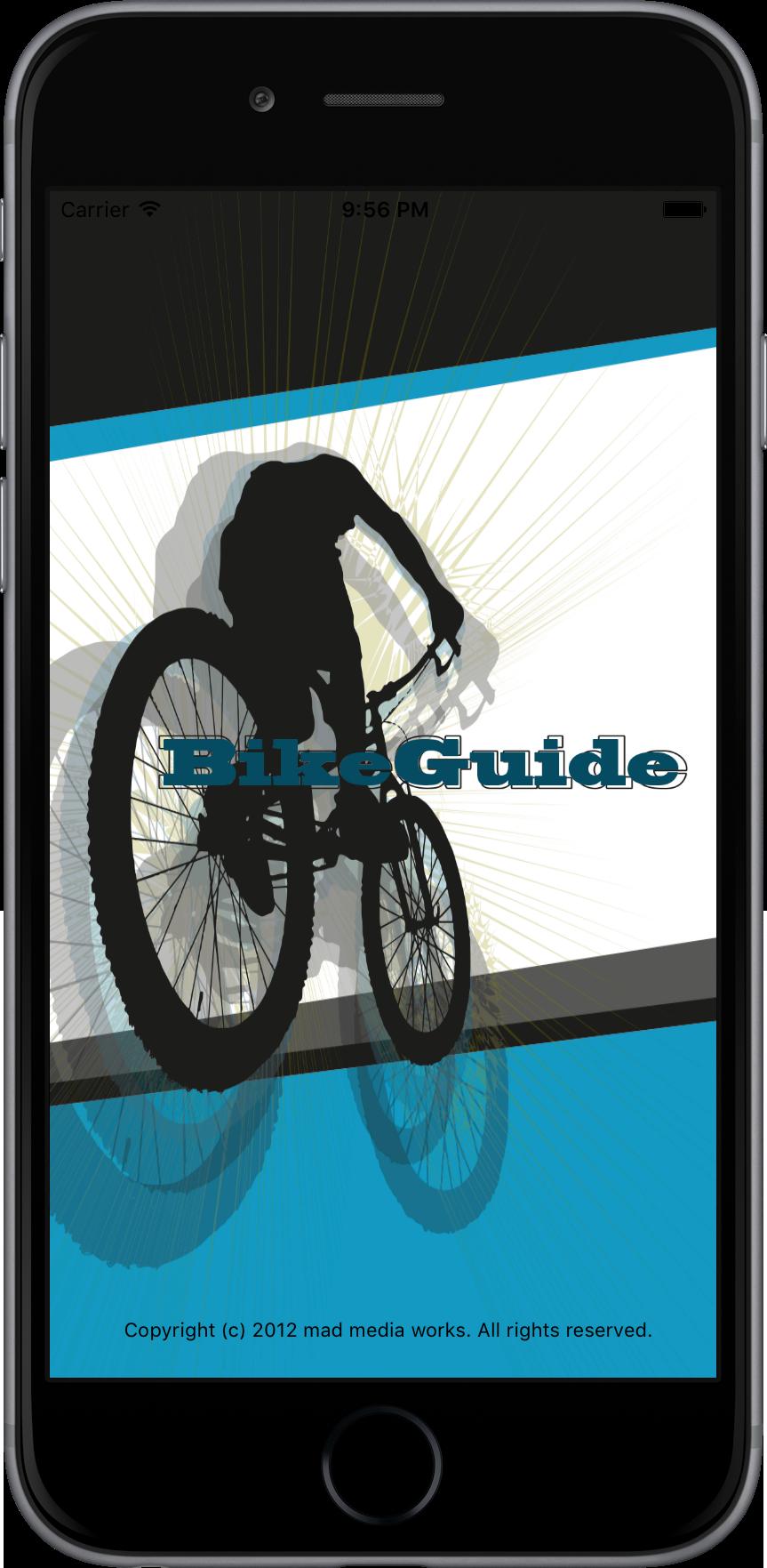 Apps. Die BikeGuide App für iOS 9 kommt mit neuen Funktionen und gefälligem Design.