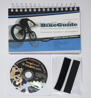 """Produktbild MTB-Führer """"BikeGuide Fränkische Schweiz + Steigerwald"""" 7.Auflage"""