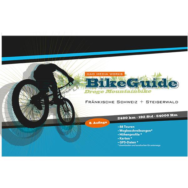 """Produktbild Mountainbike-Führer """"BikeGuide Fränkische Schweiz + Steigerwald"""" 8.Auflage"""